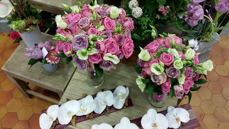 chutte de fleur pour mariage campagnard