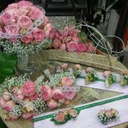 Bouquet de mariée bohème chic romantique Hé fleur et moi fleuriste de Valenciennes