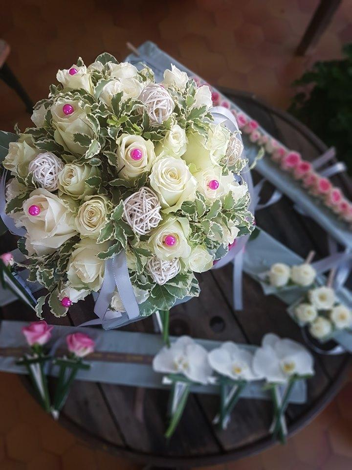 Mariage Chic Champetre He Fleur Et Moi Fleuriste Valenciennes