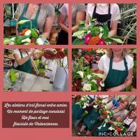 Les ateliers d'art floral chez hé fleur et moi fleuriste de Valenciennes des moments de partage avec parent et enfant sympathiques, ludiques et floraux... chez votre artisan fleuriste #Valenciennes #enterrementdeviedejeunefille  #atelier #artfloral #laSentinelle #cours #fleuriste #fleur  #loisirscreatifs #anzin @hefleuretmoi